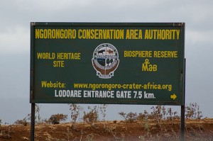 Ngorongoro_sign