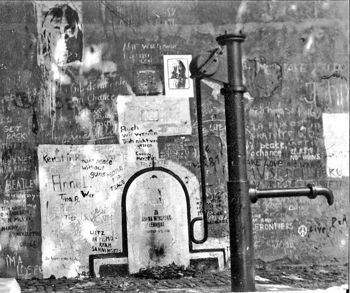 Le Mur en 1981
