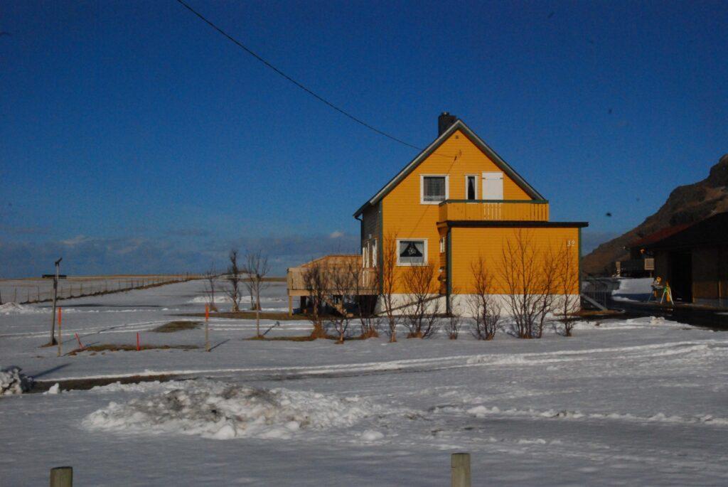 Une maison d'Unstad