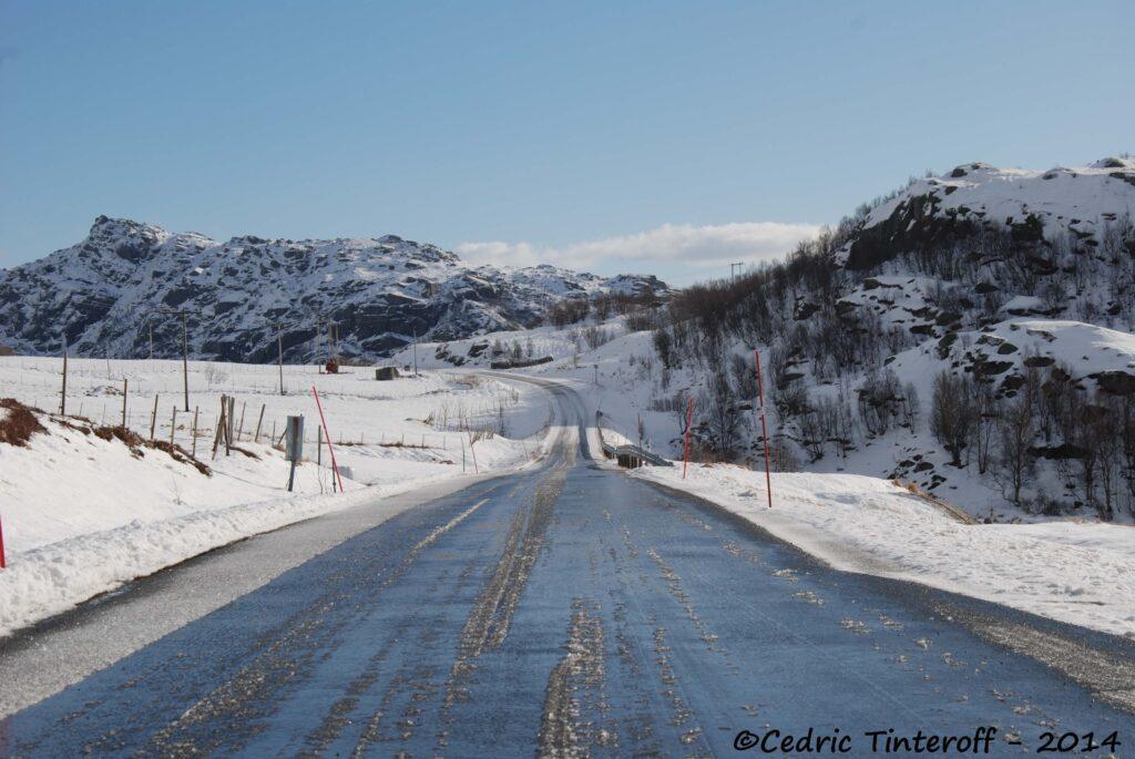 Route des lofoten vers Unstad
