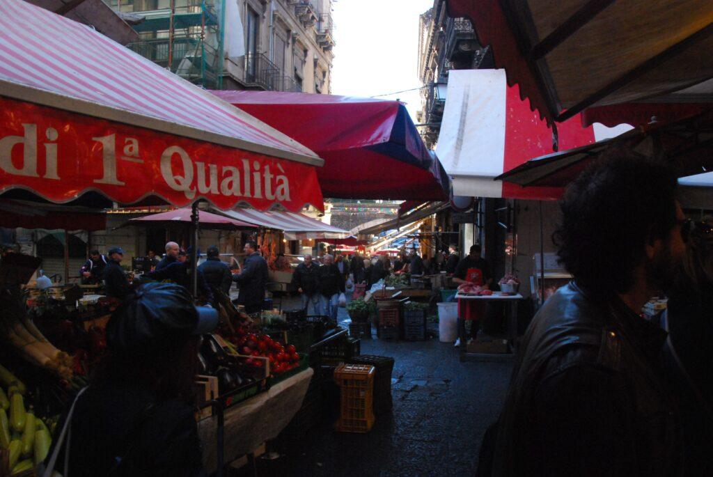 Le marché de Catane