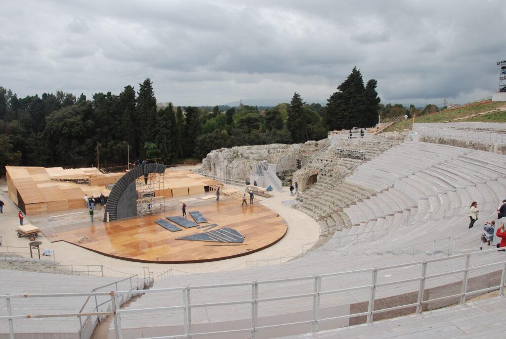 L'amphithéâtre grec