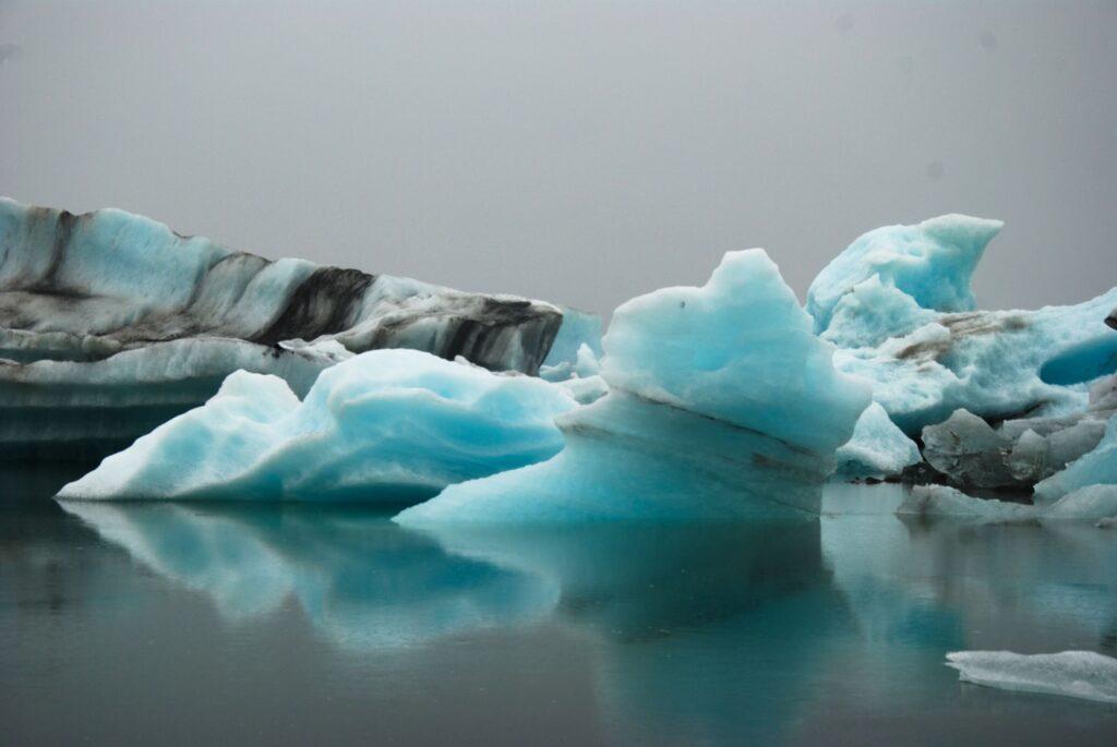 La glace de Jokulsarlon