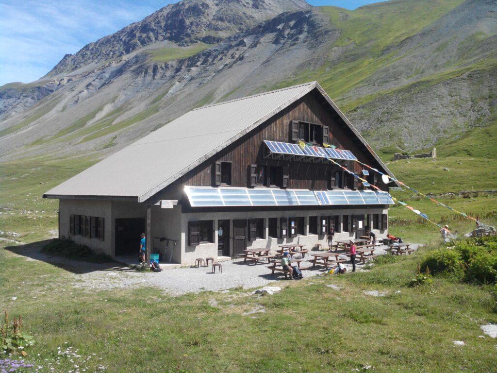 Le refuge de l'Alpe