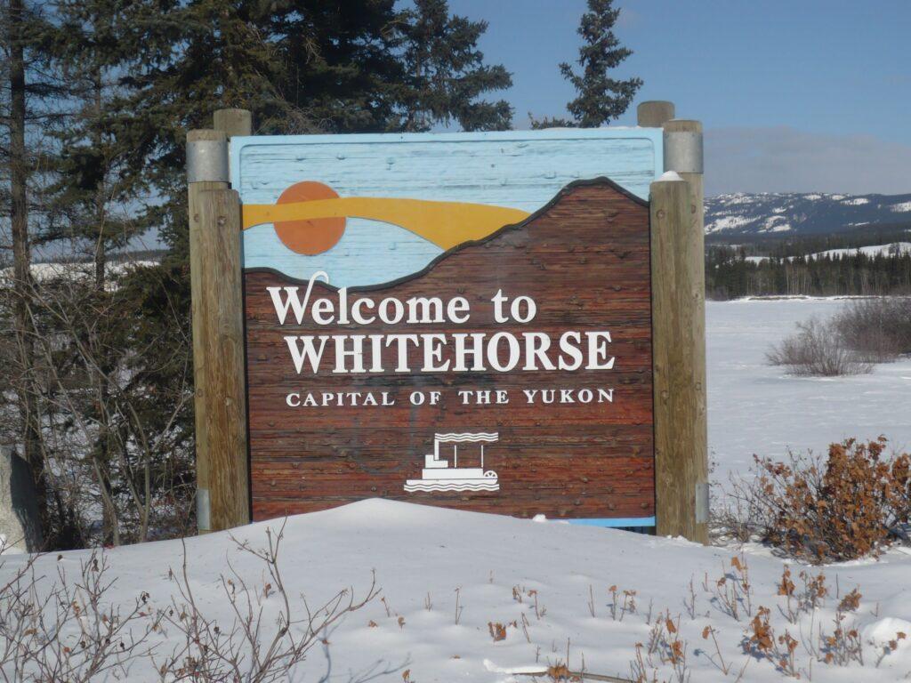 Bienvenue à Whitehorse
