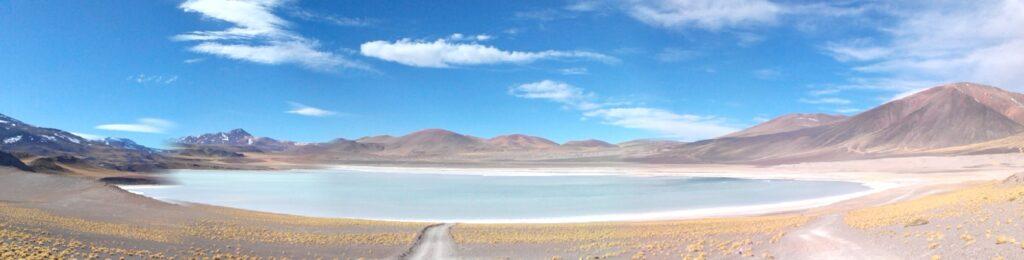 Panorama de la lagune de Tuyajto