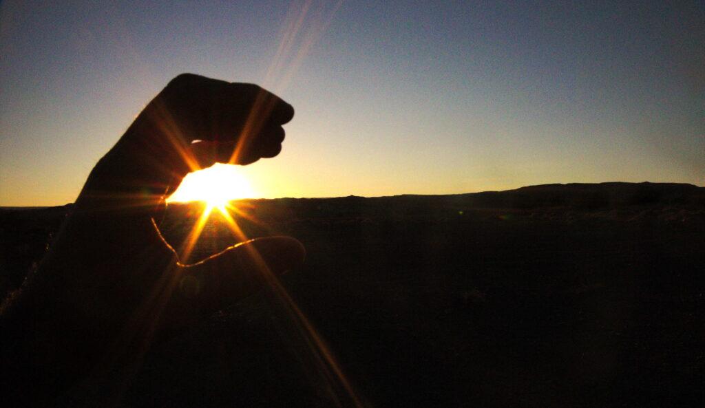 attraper le soleil