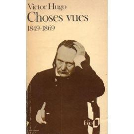 Hugo-Victor-Choses-Vues-Livre-284863033_ML