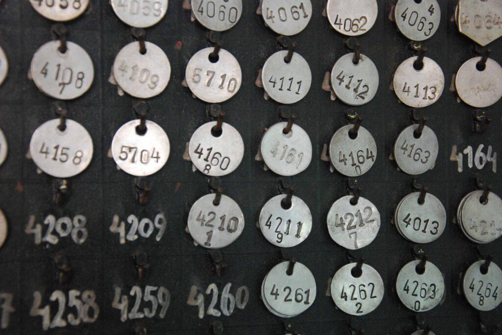 Détails de médaille de présence