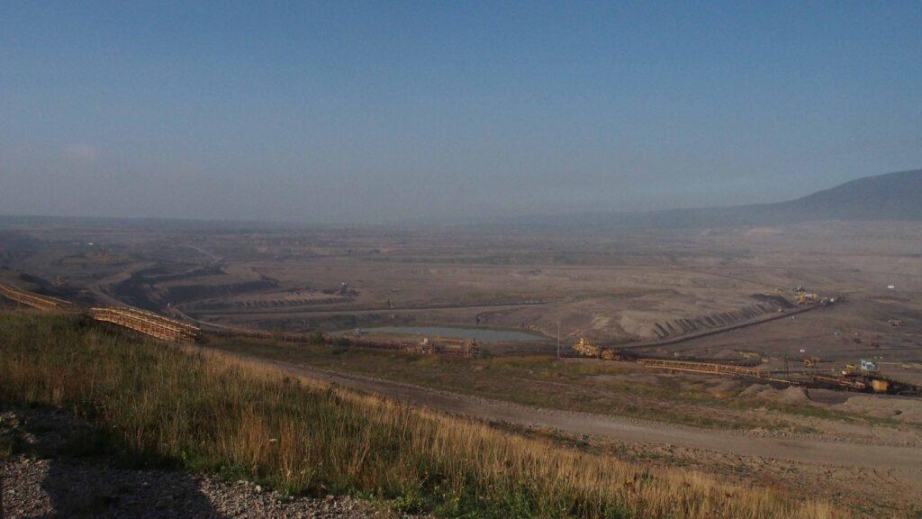 Le paysage de Most