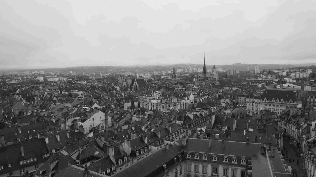 Dijon vue de haut