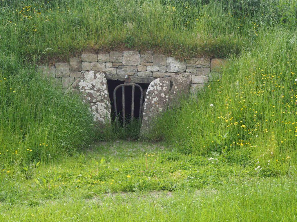 L'entrée de la Colline de Otages à Tara