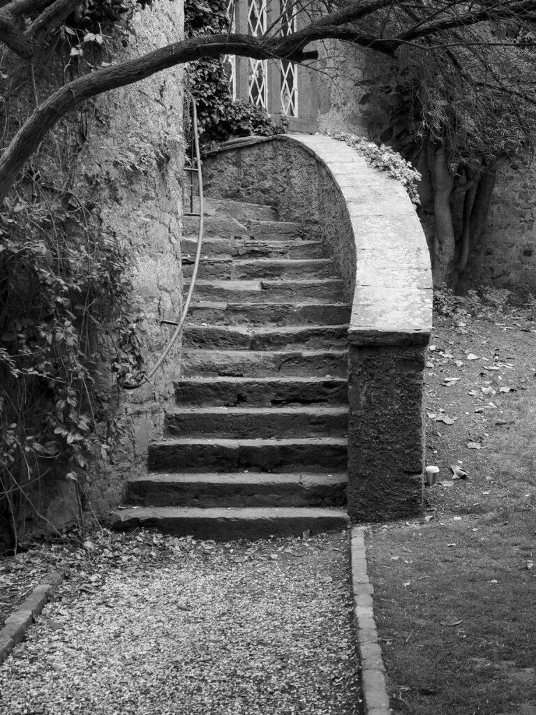 Les escaliers de Malahide