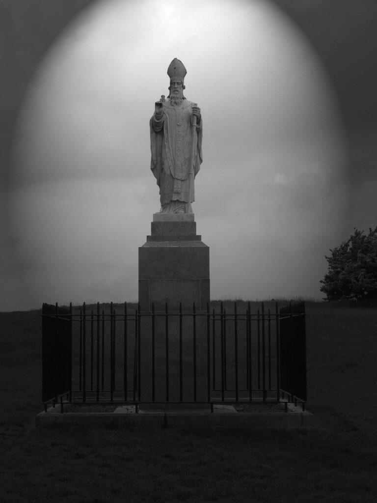La statue de Saint Patrick