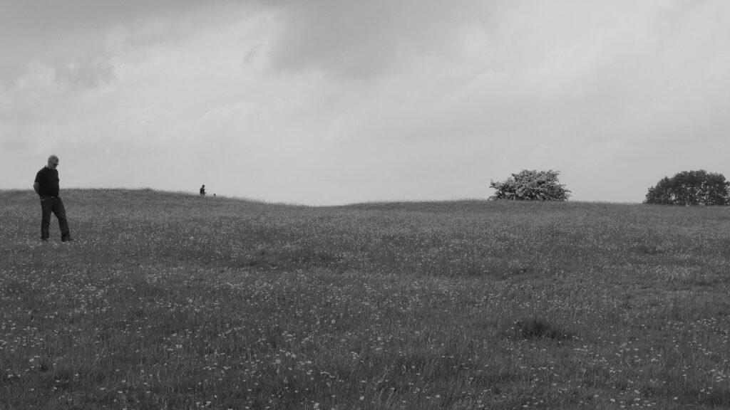 Première approche de la colline de Tara