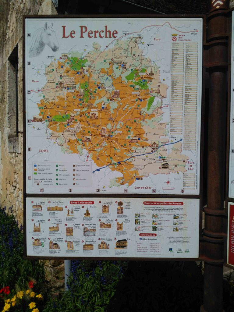 La carte du Perche