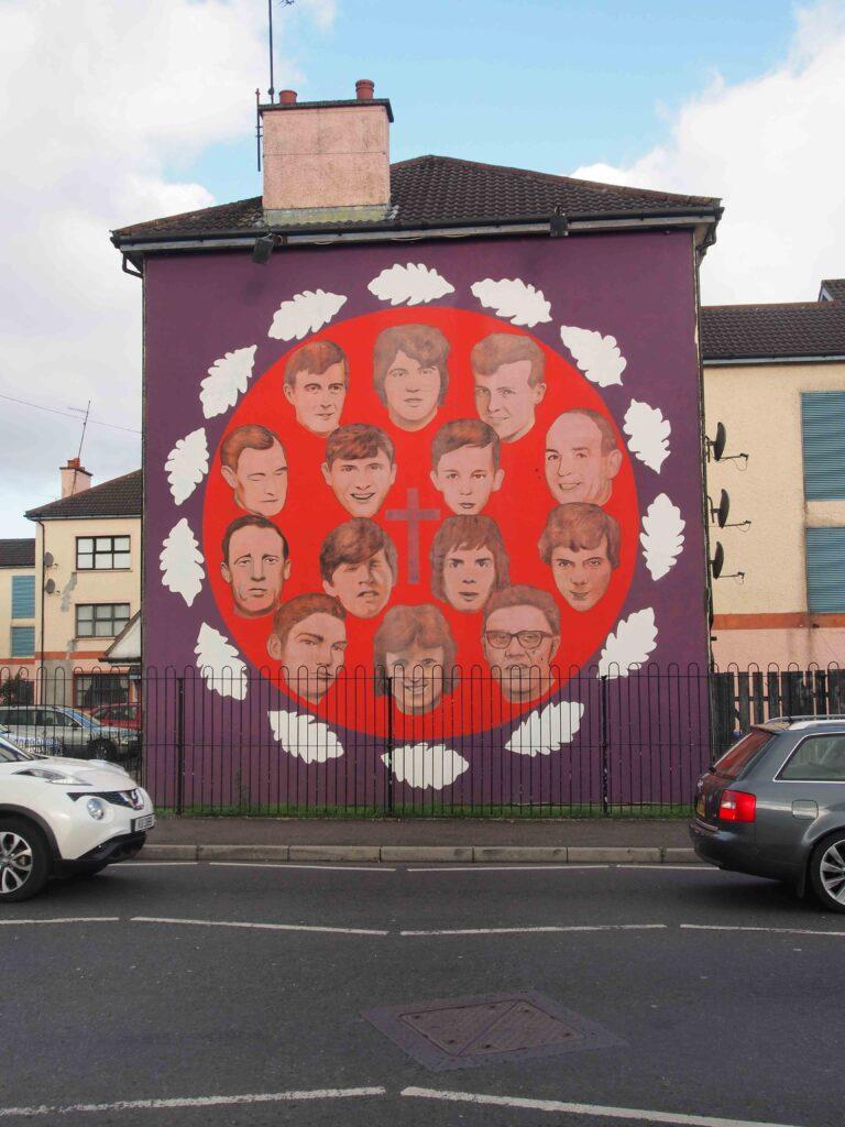 les victimes du Bloody Sunday