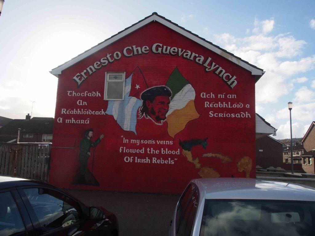 Che Guevara à Derry