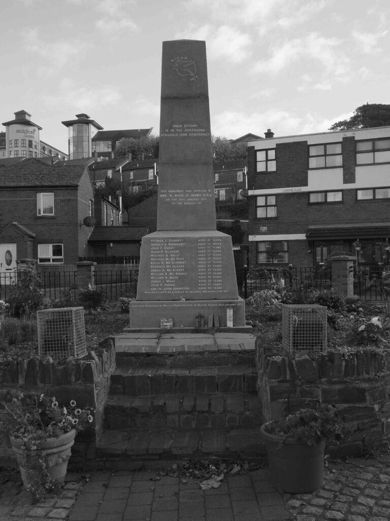 Monument commémoratif du Bloody Sunday