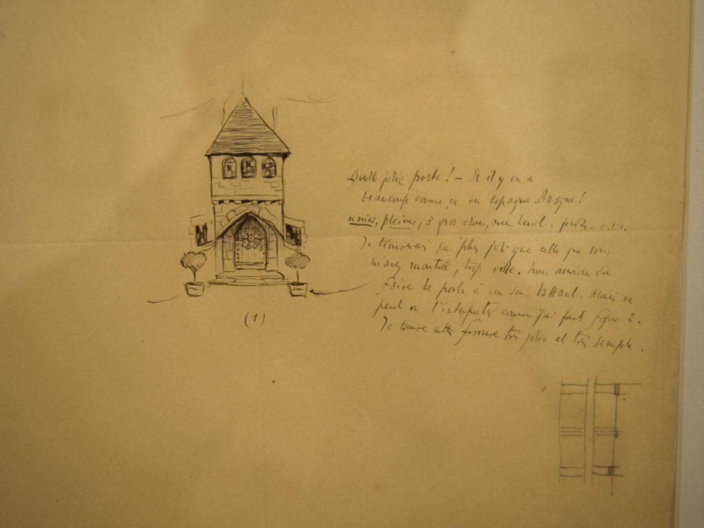 La conception de la villa Arnaga