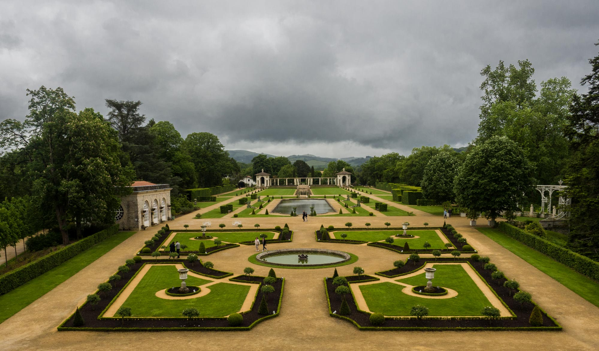Les jardins de la Villa Arnaga