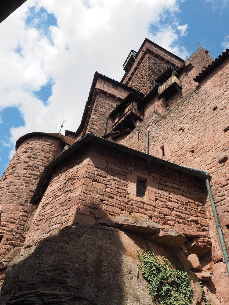 Le château du Haut Koenigsbourg