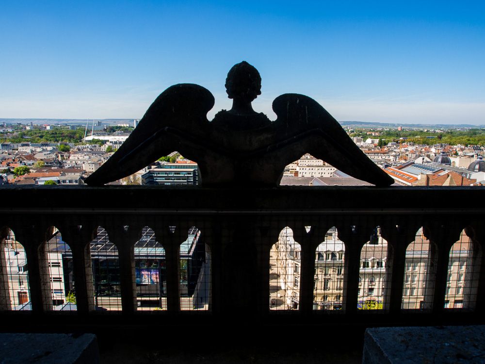 L'ange veille sur Reims