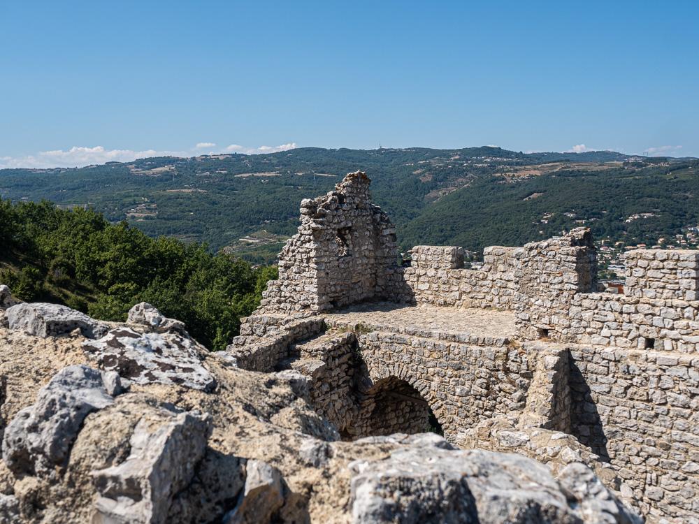 Le chateau de Crussol