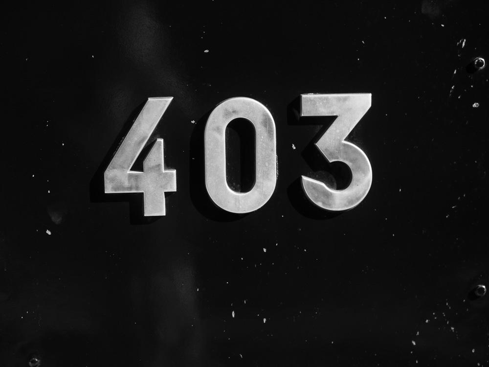 Le numéro de la locomotive