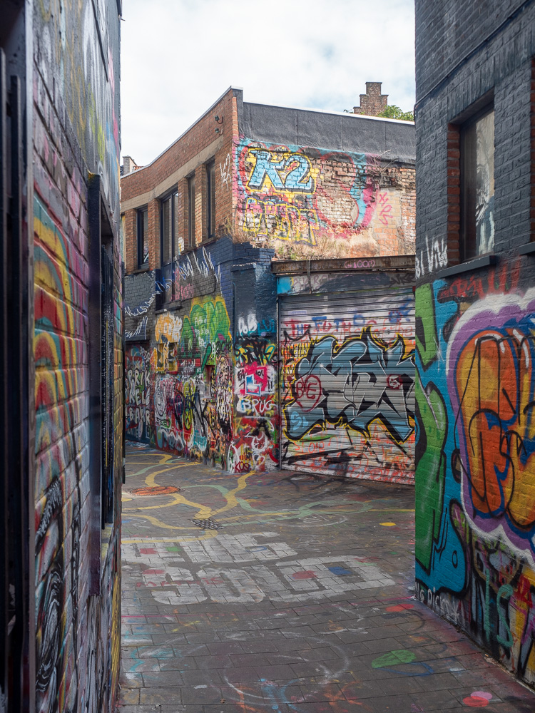 Graffiti Street à Gand