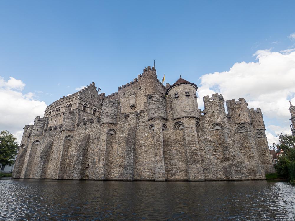 Le chateau des comtes de Flandre