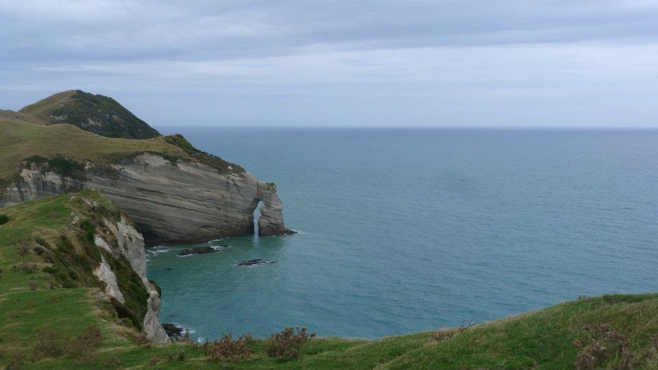 Le point le plus au nord de l'île du Sud, en Nouvelle Zélande : un vrai bout du monde
