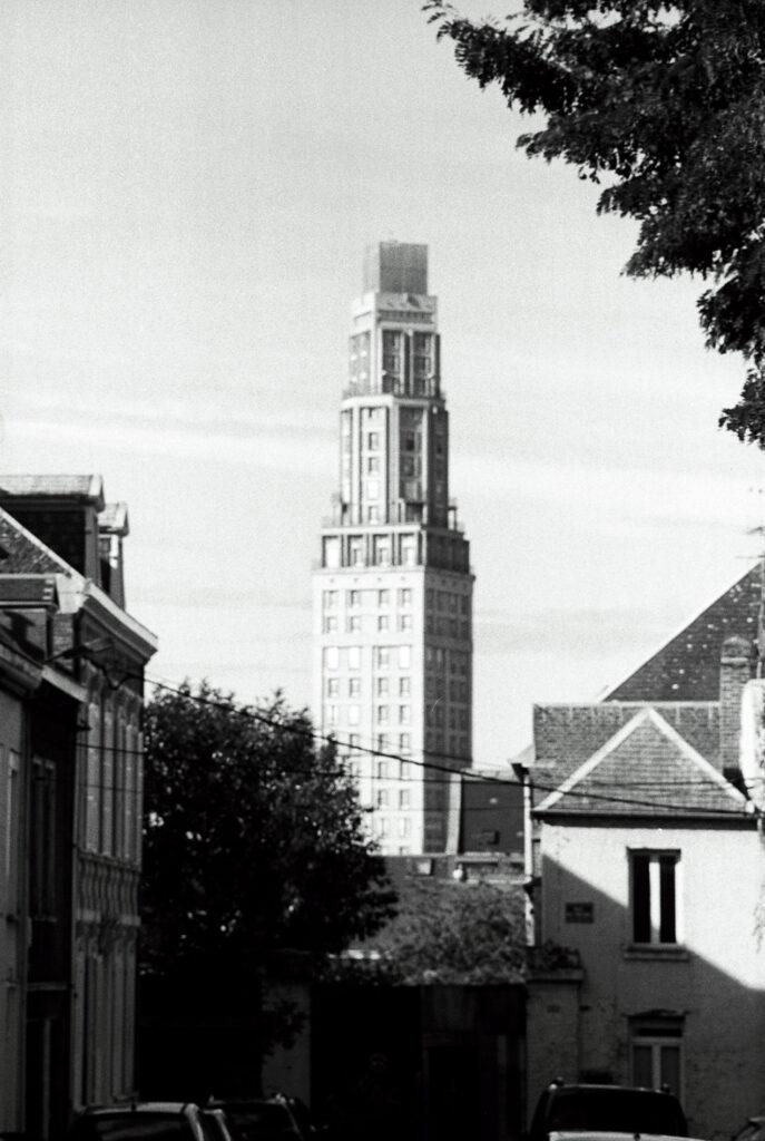 La tour Perret en argentique