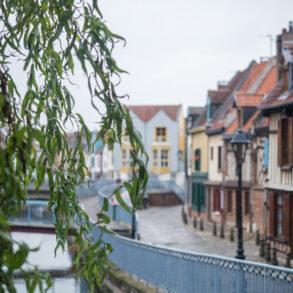Le quartier Saint Leu à Amiens