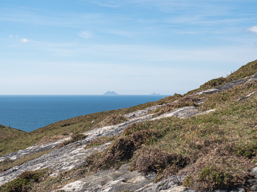 Les iles Skelligs vues depuis Dursey Island