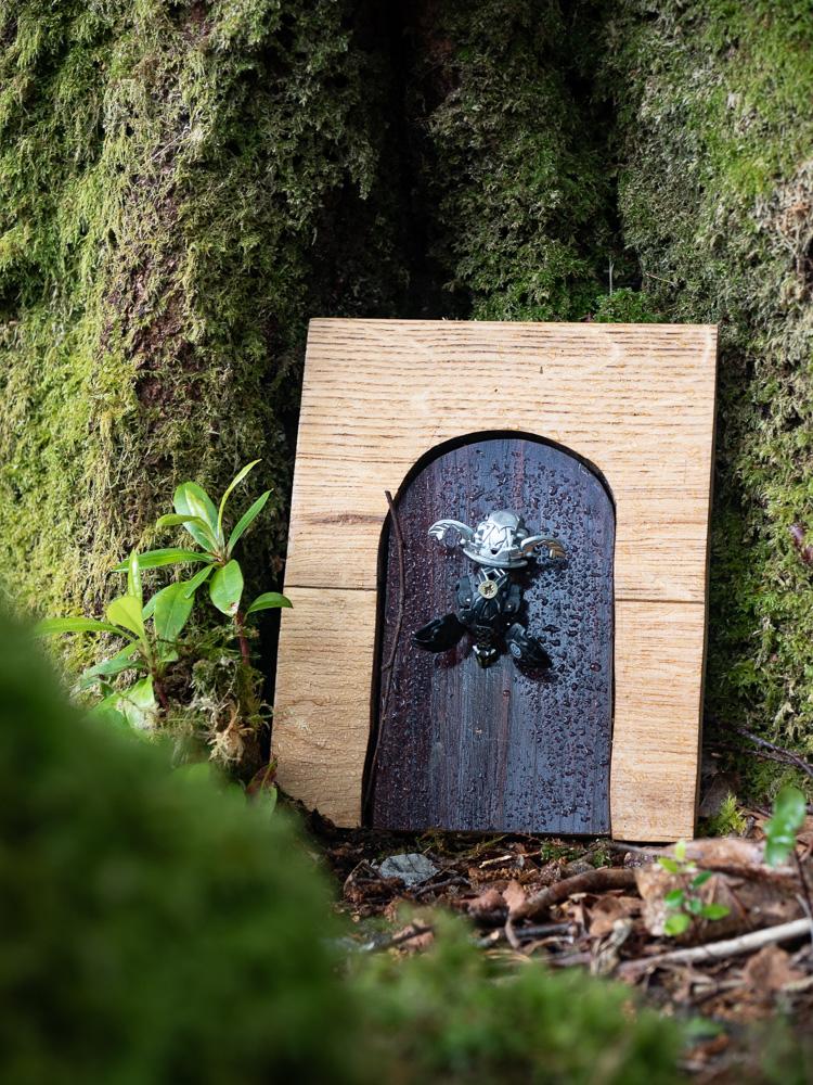 Fairy door on the fairy walk of Glengarriff