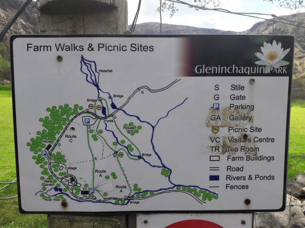 gleninchaquin map