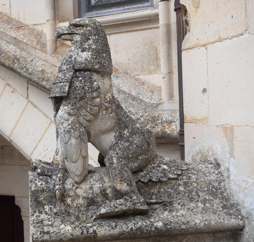 Les statues de Pierrefonds