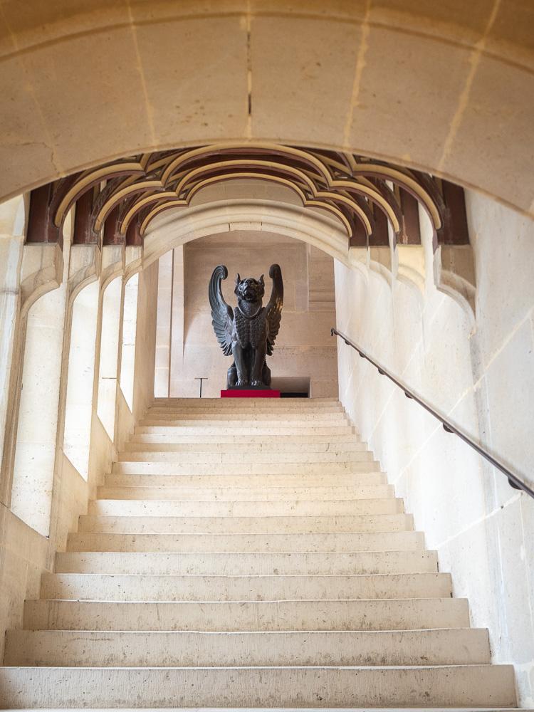 L'escalier monumental de Pierrefonds
