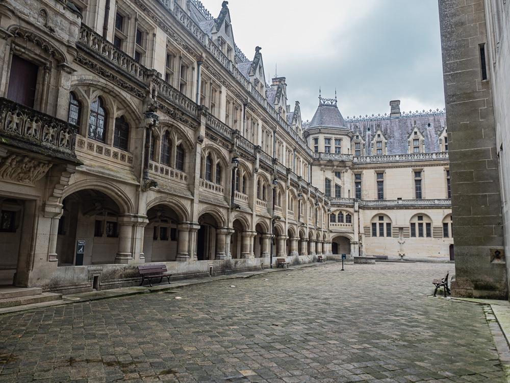 L'entrée du château de Pierrefonds