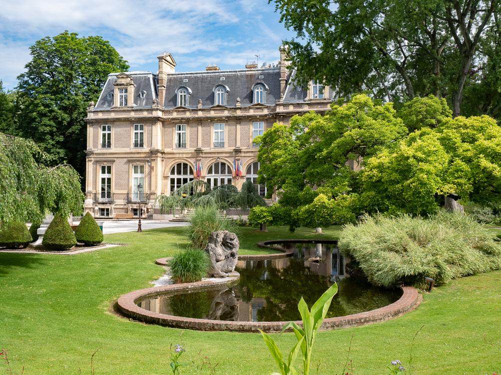 Le chateau d'Emonville à Abbeville