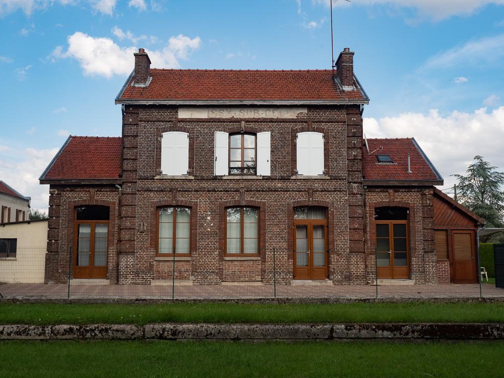 la gare de Croissy sur Celles