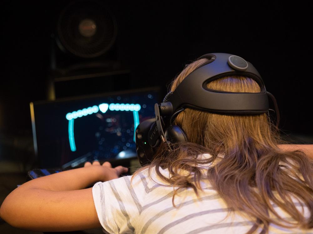 En VR à l'eurospace center