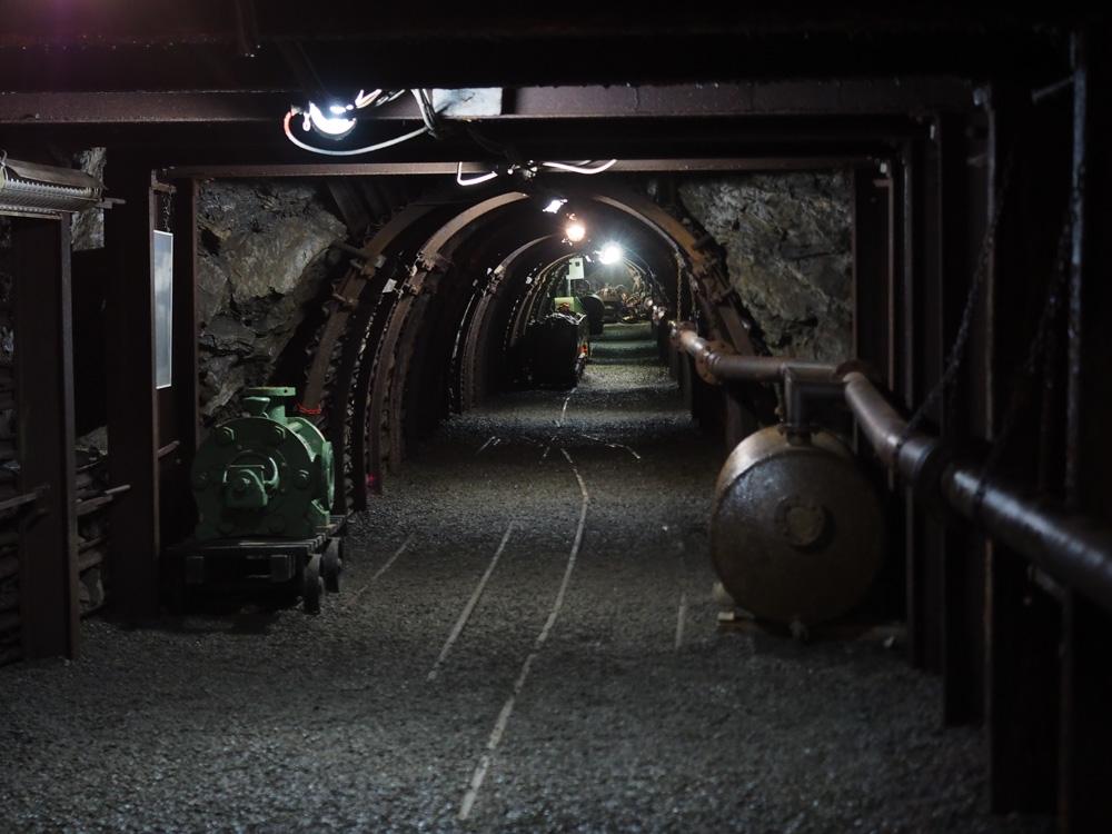 Dans la mine de Bligny