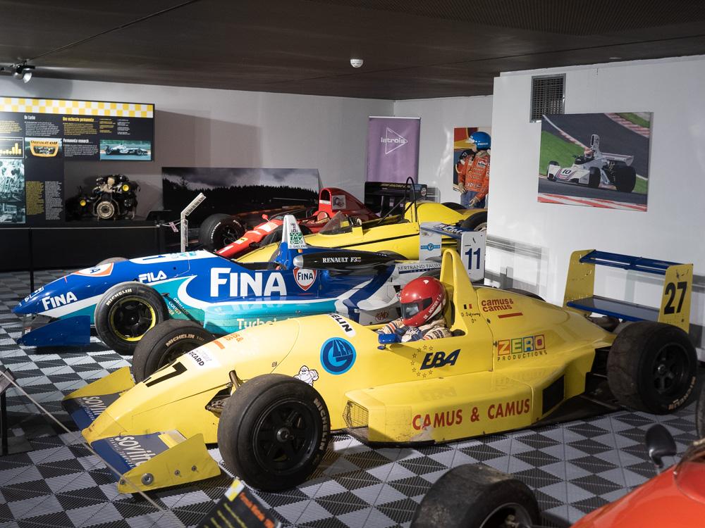 Des F1 à Spa